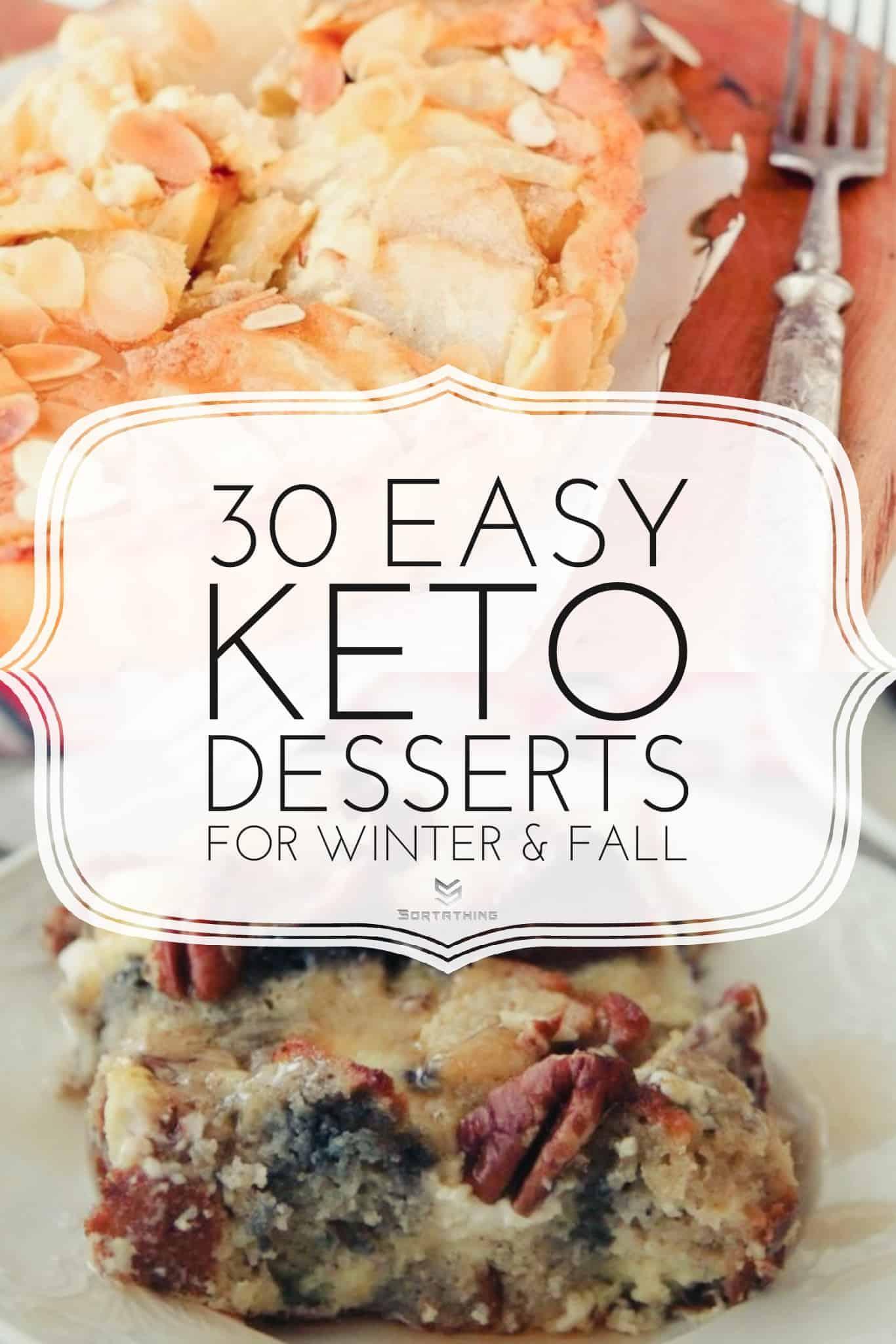 "Keto Custard ""Apple"" Tart and Keto Blueberry French Toast Casserole"