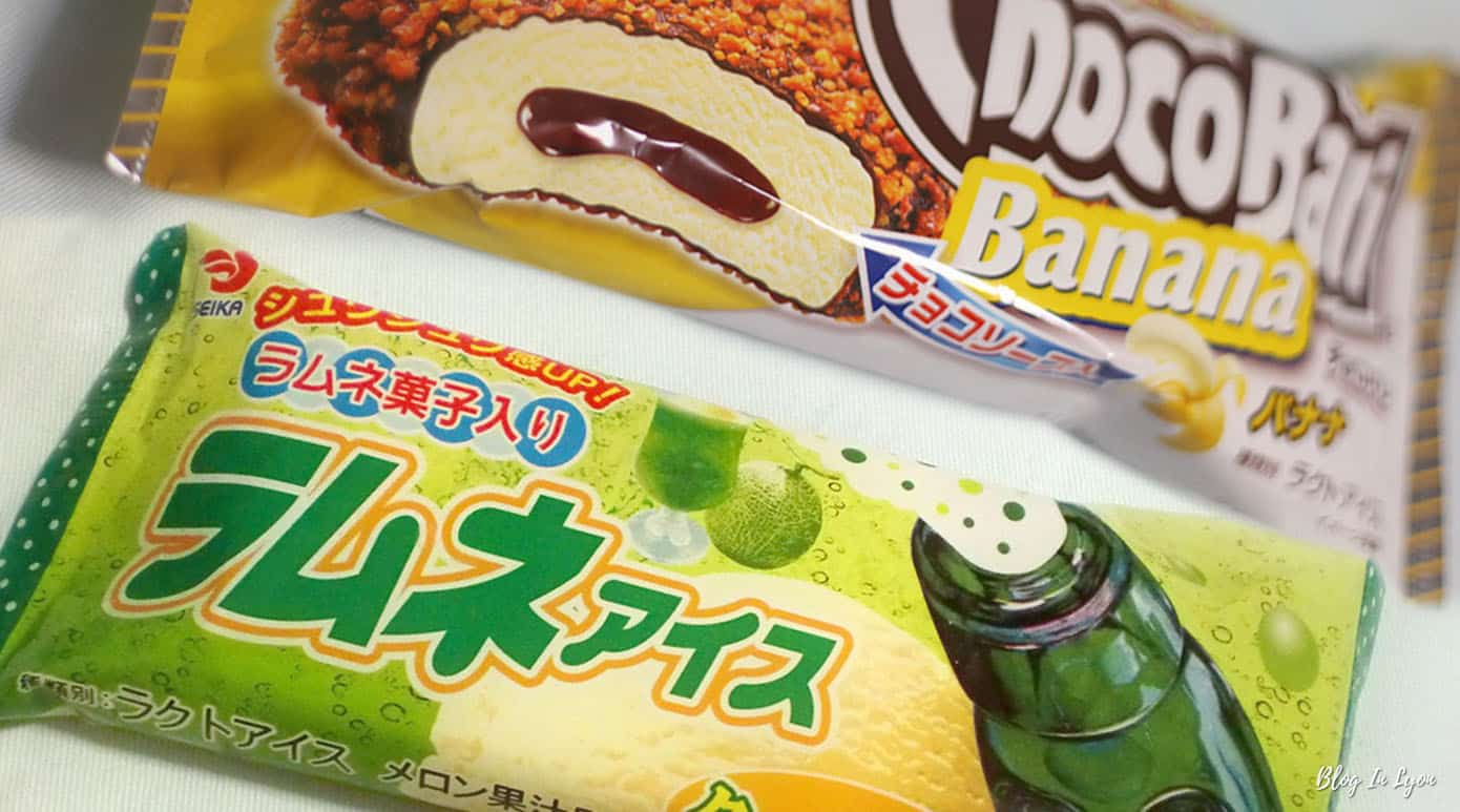 Glaces et friandises Japonaises