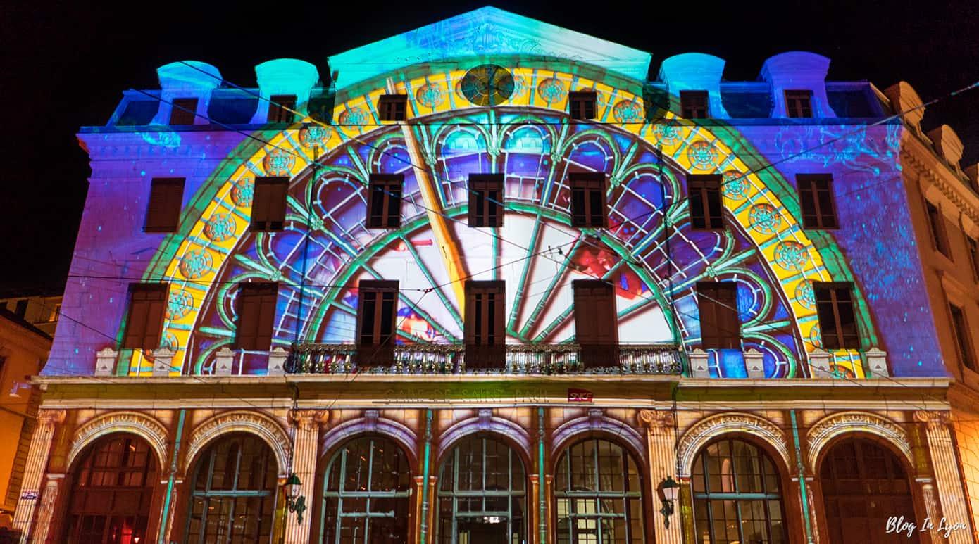 Fête des Lumières 2016 Gare Saint Paul