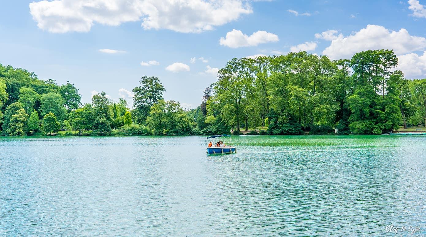lac du Parc Tête d'Or