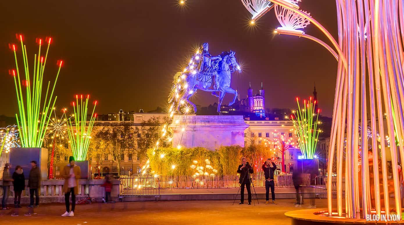 Fête des Lumières 2017 – Place Bellecour