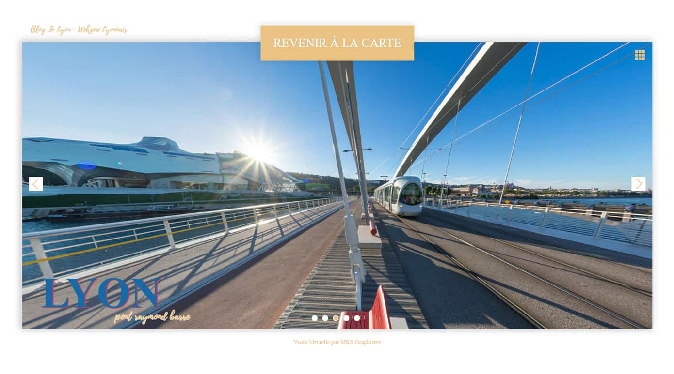 Visite Virtuelle de Lyon - Blog In Lyon