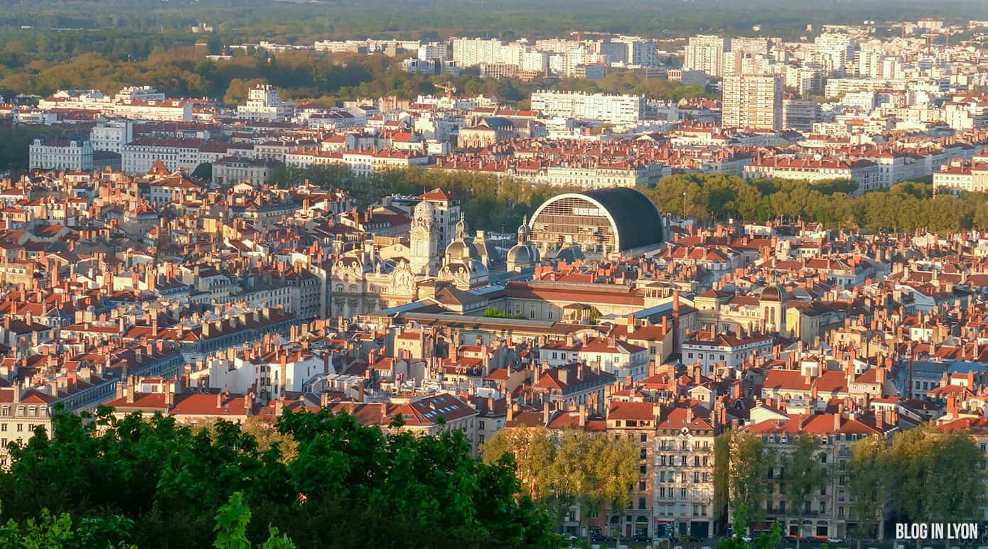 Opéra Hôtel de Ville Lyon - Fond écran lyon