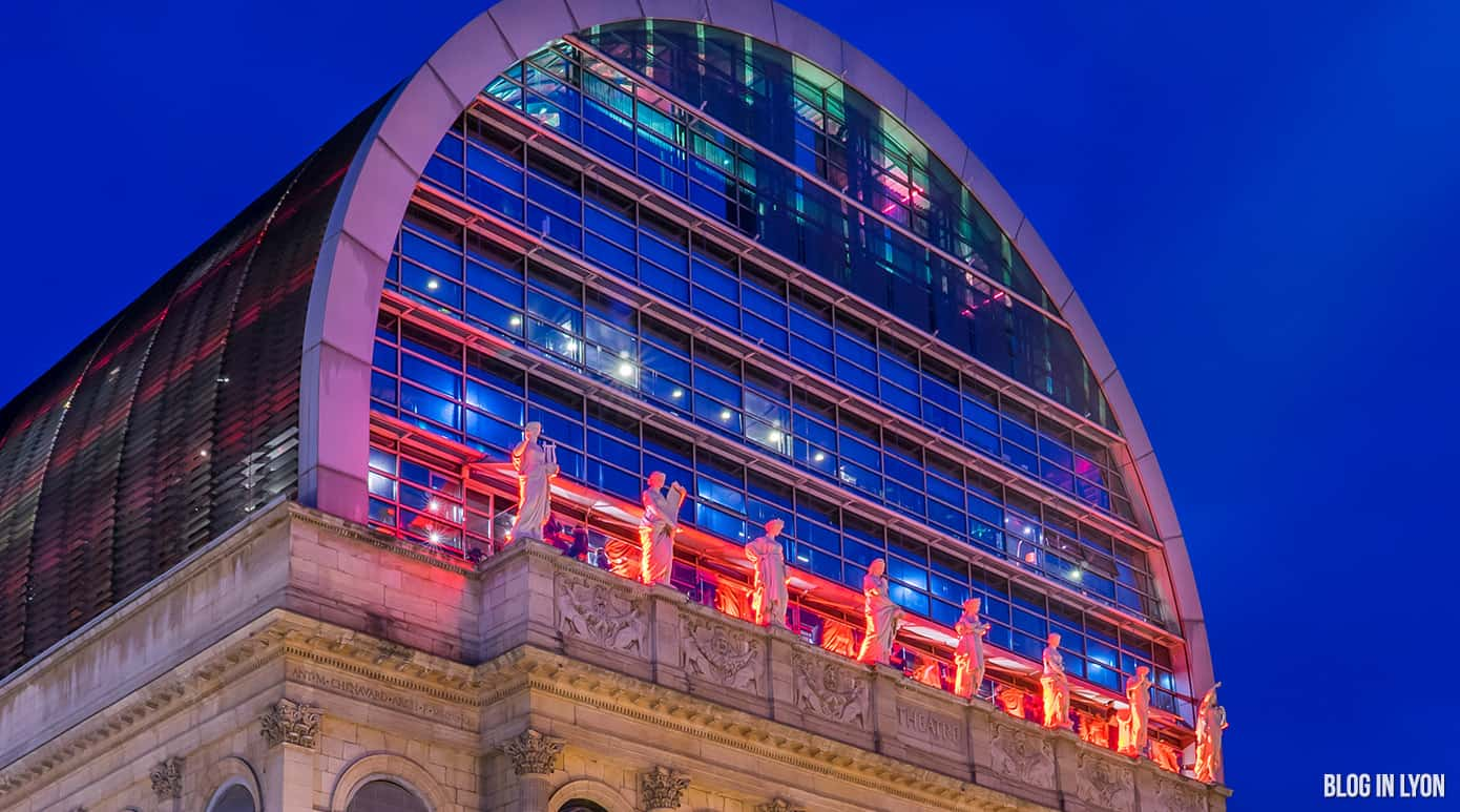 Opéra de Lyon la nuit | Blog In Lyon - Webzine Lyon