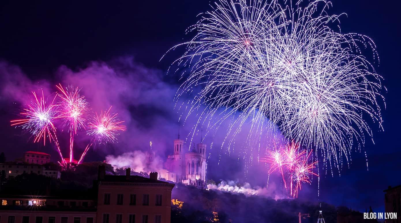 Feu d'artifice du 14 Juillet 2018 | Blog In Lyon