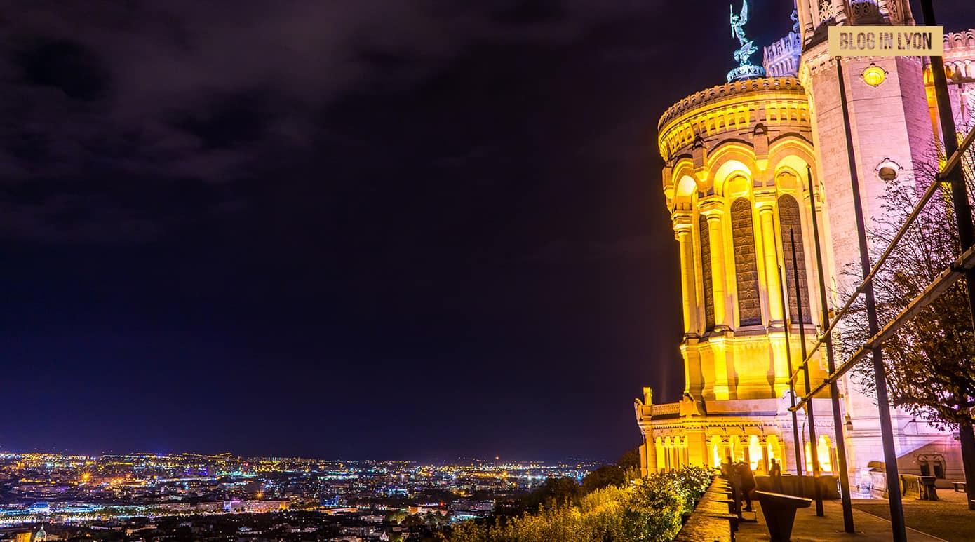 Fond d'écran Lyon – Novembre | Panorama Basilique de Fourviere | Blog In Lyon