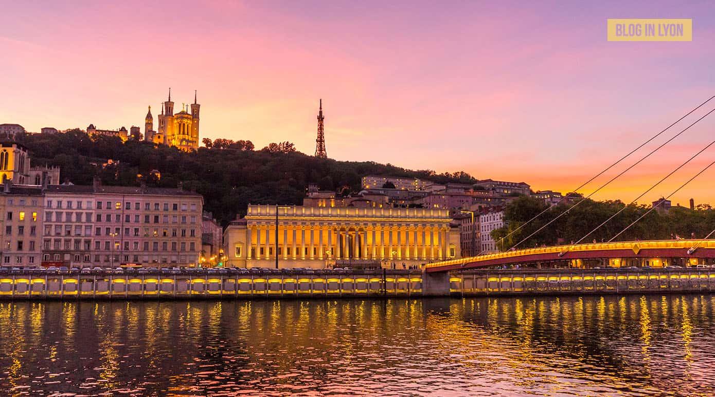 Quais de Saône Palais Justice - Fond d'écran Lyon | Blog In Lyon
