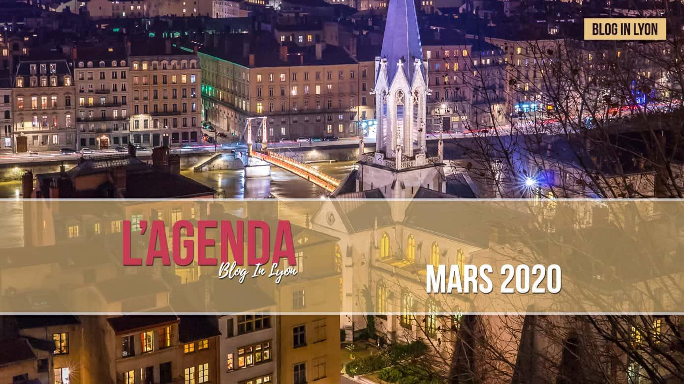 Agenda Mars 2020 - Ville de Lyon | Blog In Lyon