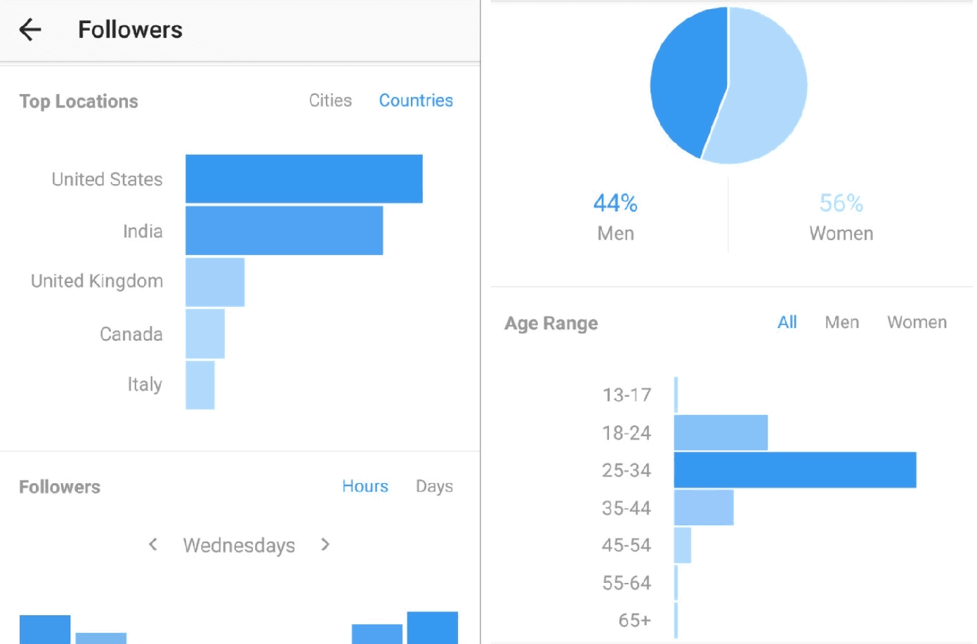 Demographics - How to become an instagram influencer