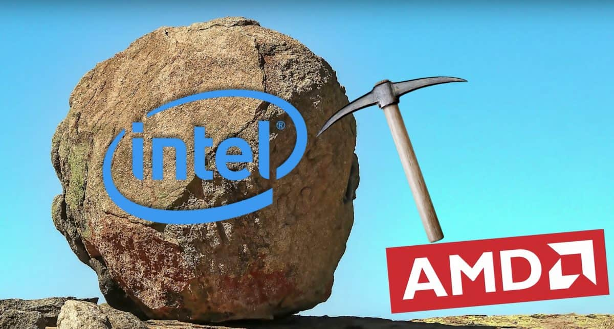 AMD vs Intel: The escalation continues! 50% of premium sales are from AMD