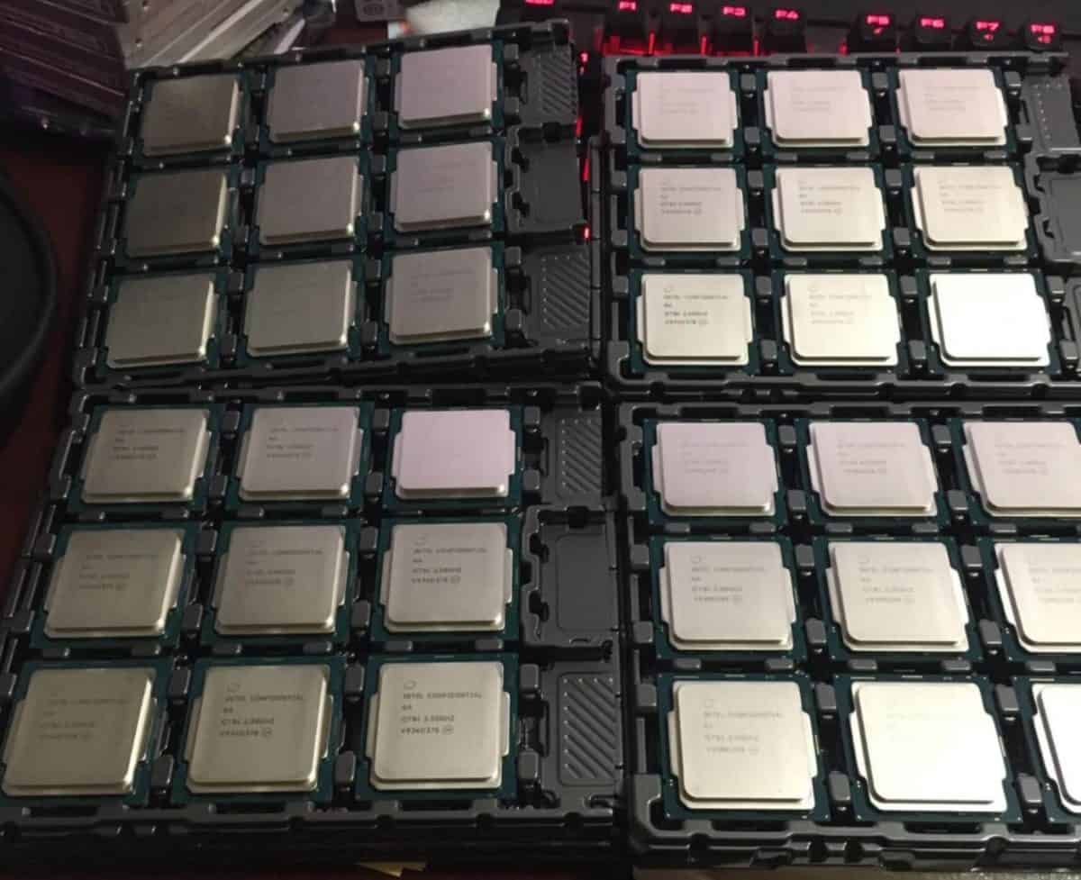 Caution! There are fake Intel processors on the market
