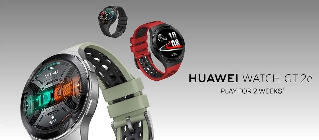 Huawei Watch GT2e: sports smartwatch for 200 Euros