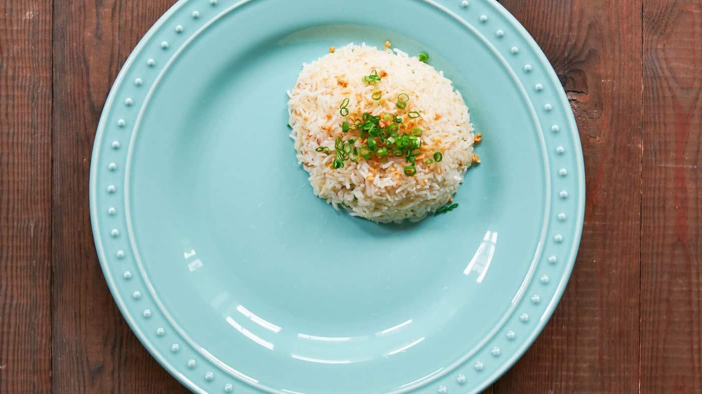 Sinangag (garlic fried rice) is the base of any good Filipino breakfast.
