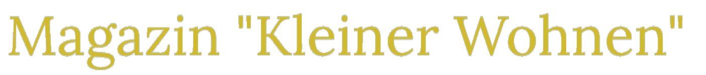 Das Bild zeigt das Logo vom Kleiner Wohnen Magazine