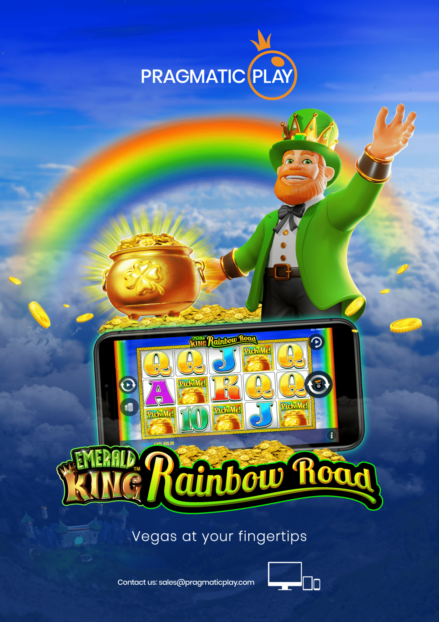 Emerald King Rainbow Road Pragmatic Play