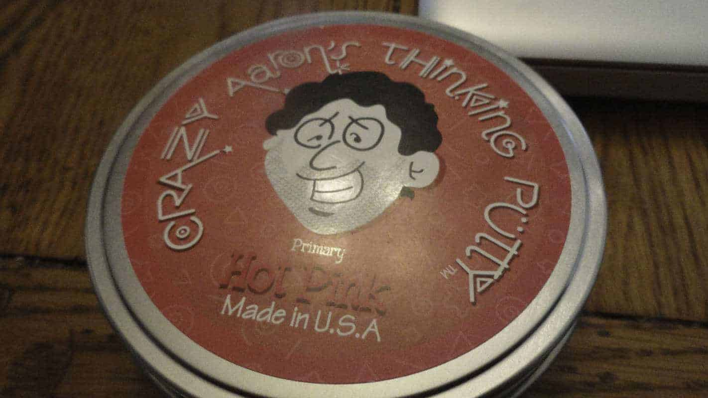 Crazy Aaron's thinking putty