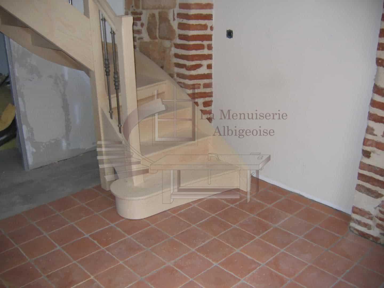 Escalier La Menuiserie Albigeoise