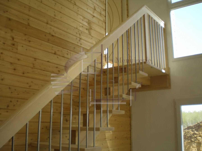 Escalier sur-mesure dans le Tarn