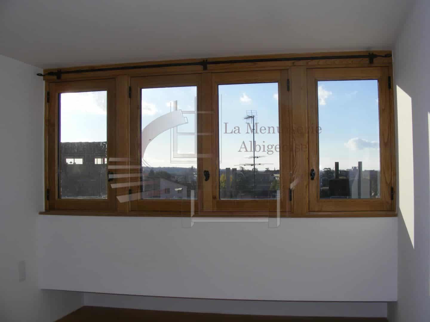 Fenêtre rustique sur-mesure