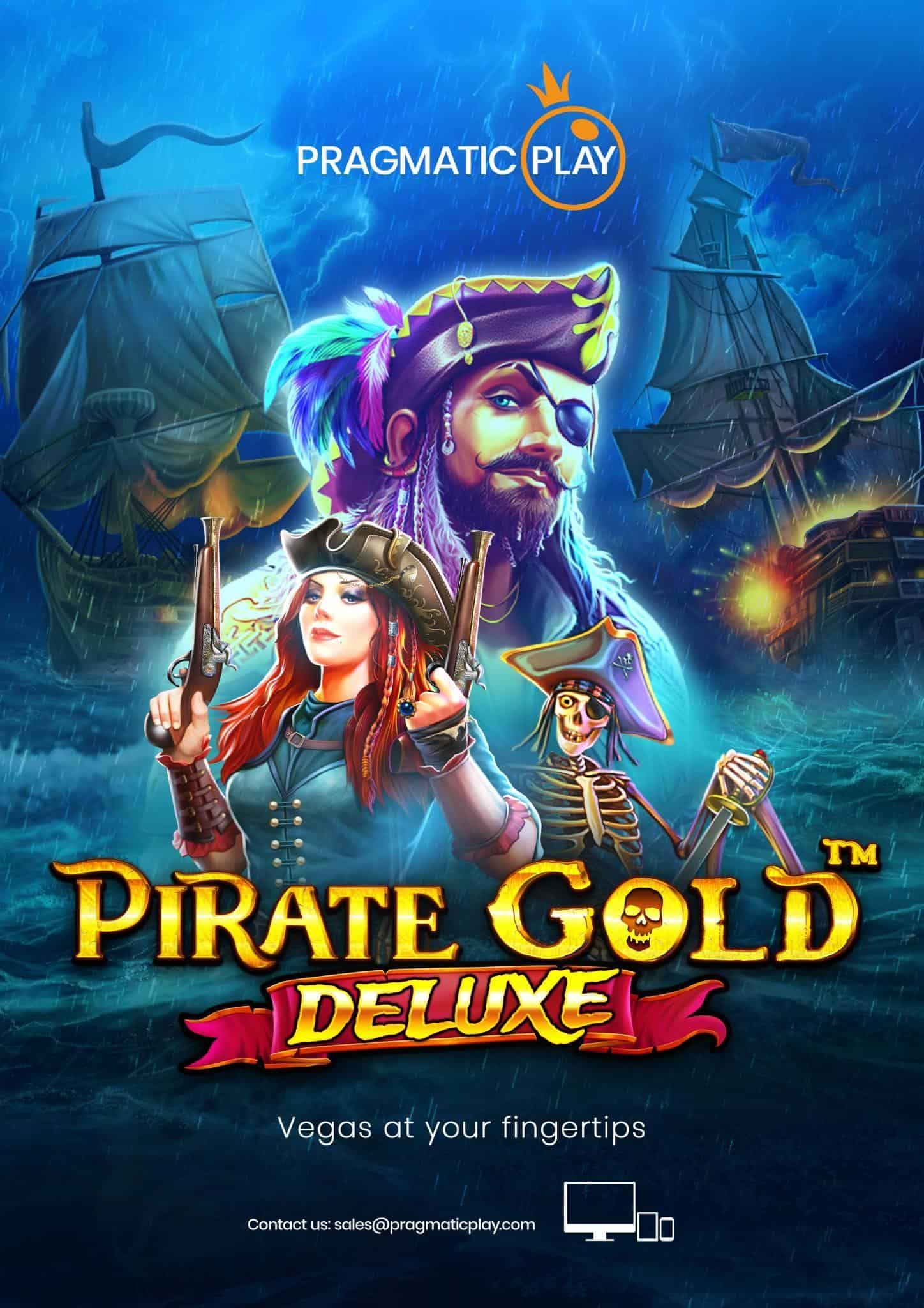 Pirate Gold Deluxe spillemaskine