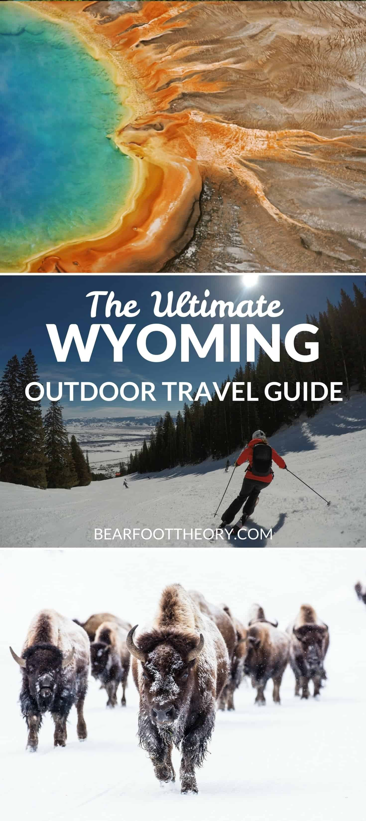 Plan an adventurous trip to Wyoming with our outdoor travel guide featuring the best outdoor activities, national parks & most popular Wyoming blog posts.