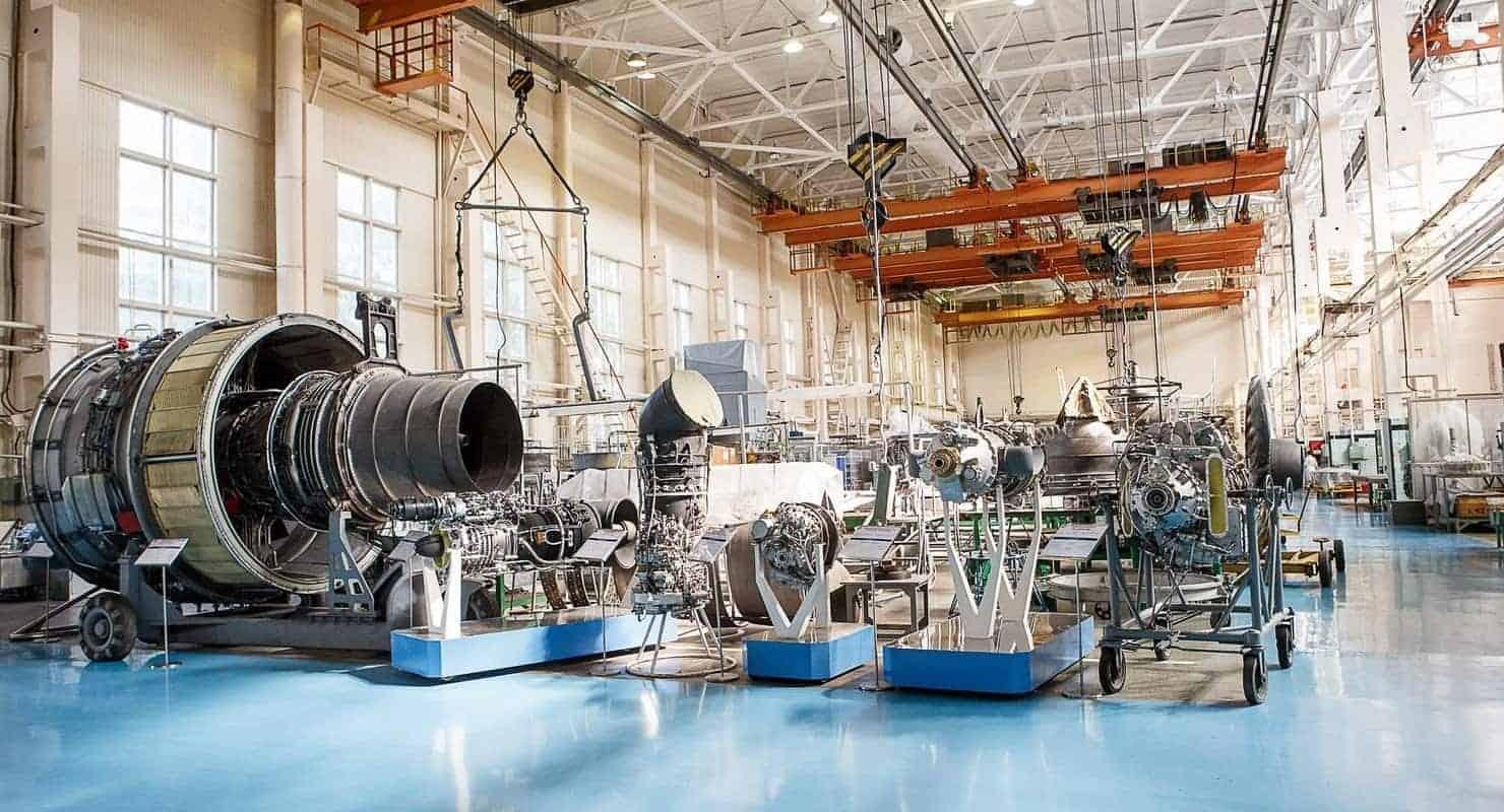 Виробництво авіаційних двигунів на Мотор Січ