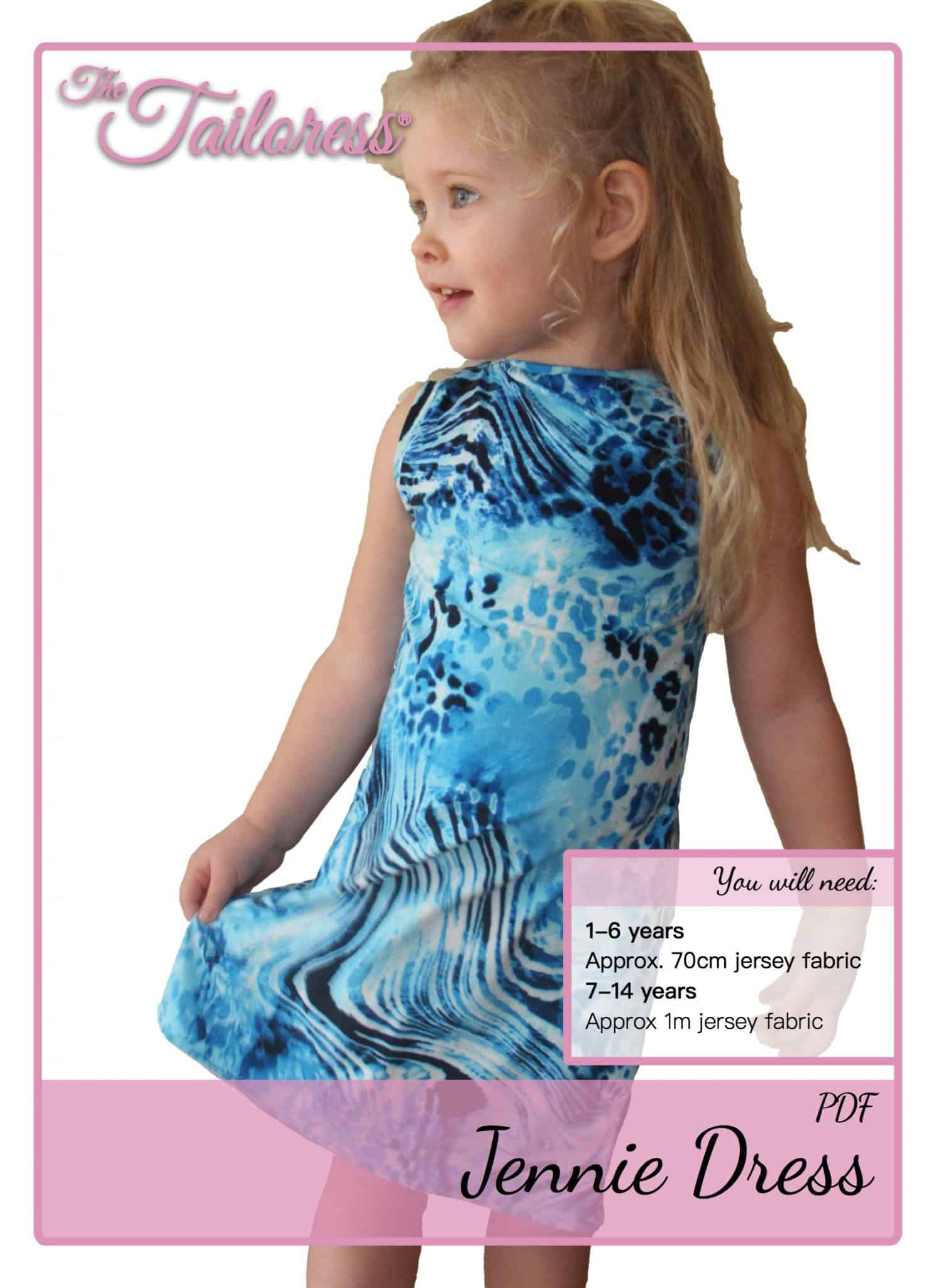 The Tailoress PDF Sewing Patterns - Jennie Dress Tutorial