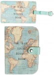 Vintage Passport Cover & Luggage Tag