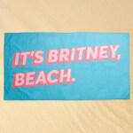 It's Britney, Beach Towel