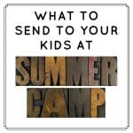 Sending camp care packages is a great way for kids to know that you're thinking of them while they're at sleep away camp. This post lots of summer camp care package ideas, for both non-food camps and camps that allow food treats, for girls and for boys, and fun products that will entertain the whole cabin. #carepackages