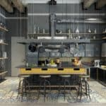 20 Marvelous Industrial Kitchen Designs