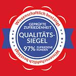 97% zufriedenen Kunden