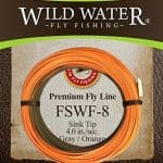 Weight Forward Sinking fly line