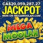 CA$20,059,287.27 - Canadian player wins record Mega Moolah jackpot 😲