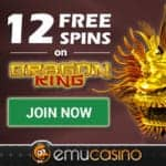 Emu Casino [register & login] 12 free spins and $300 bonus
