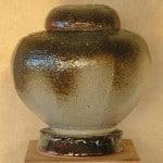 Keramiek urn Koch Pottery