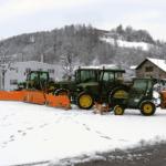 Traktoren-Winterdienst