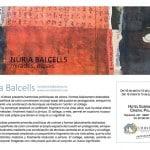 Exposició de pintura de Núria Balcells a Barcelona