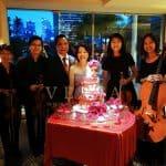 Don & Pat's 40th Ruby Wedding Anniversary at Conrad Centennial Singapore