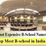 Most Expensive B-School Name