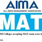 MBA Colleges in Faridabad Accepting Mat Entrance Exam
