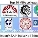 Top 10 MBA Rankings in India: B-school Rankings, Colleges