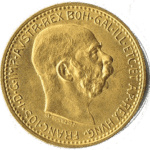 10 Kronen Goldmünze