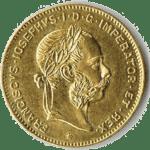 4 Gulden Münze - Vorderseite