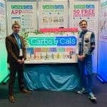 Dietitian and author, Chris Cheyette, with Carbs & Cals business partner Yello Balolia.