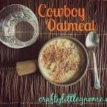 cowboy oatmeal