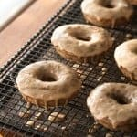 Brown Butter Banana Donuts with Espresso Glaze