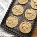 Tahini Chip Cookies