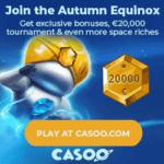 Casoo Casino 200 Free Spins + 100% Bonus + €2000 Gratis