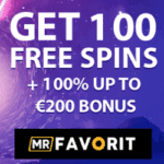 Mr Favorit Casino - free spins, VIP promotions, bonus codes